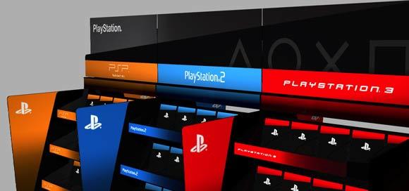 SONY Playstation point of sale solution
