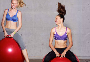 Berlei Sport Bras online advertising and collateral