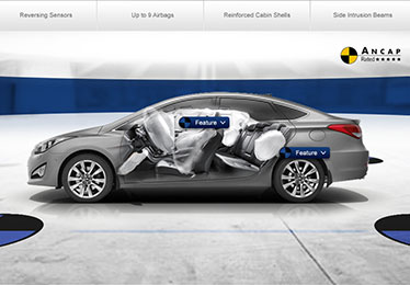 Hyundai safety website
